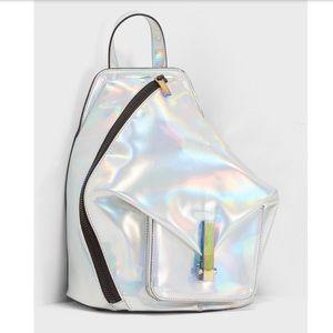 Kendall + Kylie Koenji Holographic Backpack NWT